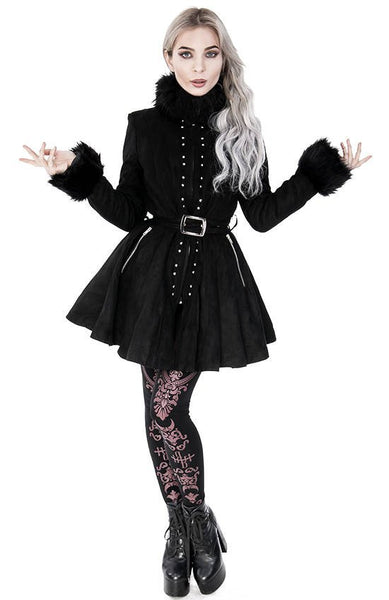 Gothic Pleated Coat by Restyle