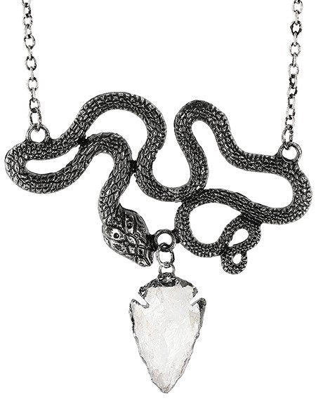Entwine Silver Necklace by Restyle