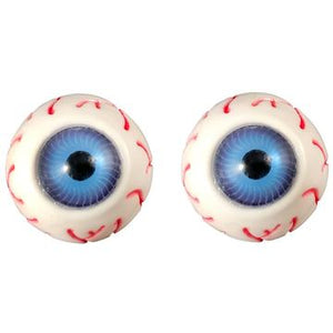 Eyeball Stud Earrings by Kreepsville 666