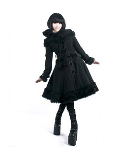 Gothic Midnight Coat by Punk Rave
