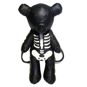 Grim Skeleton Bear Backpack
