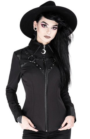 Gothic Harness Shirt by Restyle