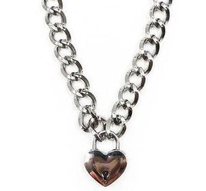 Heart Breaker Padlock Necklace