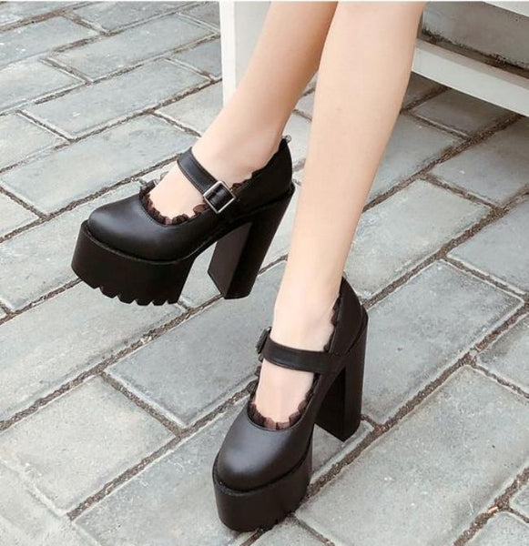 Little Miss Goth Heels