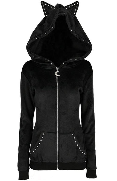 Luna Cat Hoodie by Restyle
