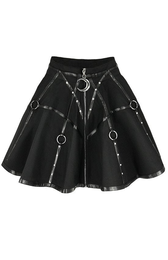 Moon Mistress Skater Skirt by Restyle