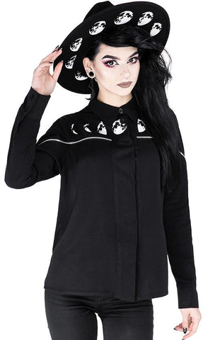 Moon Phases Shirt by Restyle