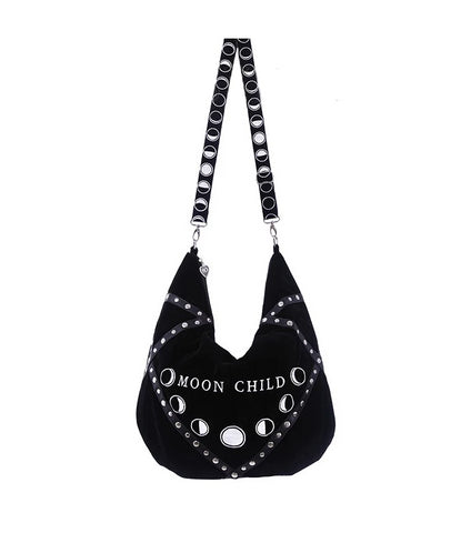 Moon Child Hobo Bag by Restyle