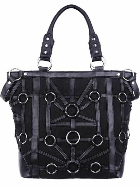 Gothic O-Ring Tote Bag by Restyle
