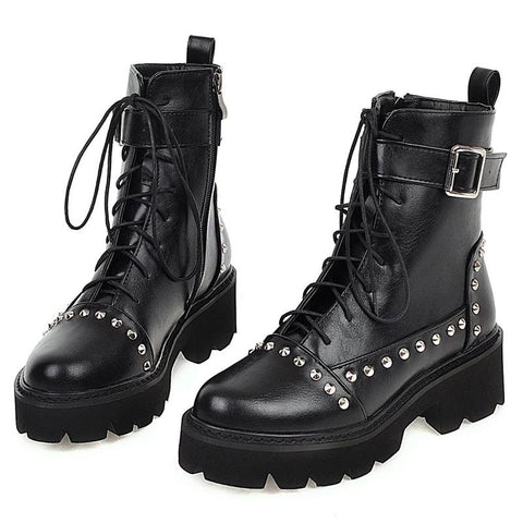 Risk It All Studded Boots