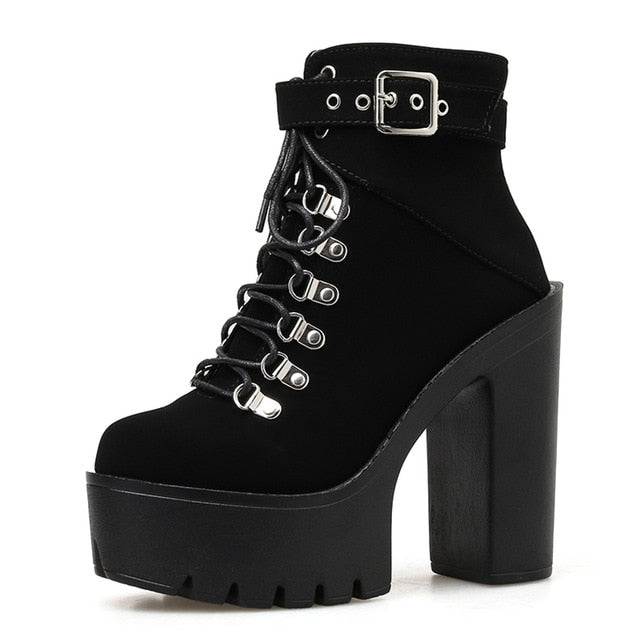 Hysteria Faux Suede Boots