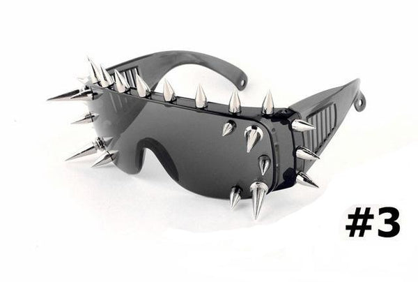 Apocalyptic Punk Spike Sunglasses (4 Styles Available)