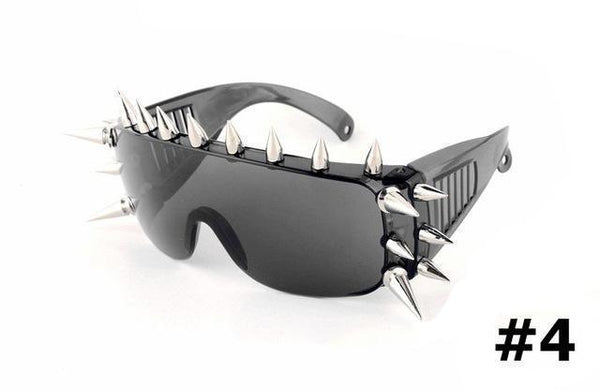 Apocalyptic Punk Spike Sunglasses (4 Styles Available!)