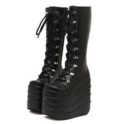 Monster Mayhem Platform Boots