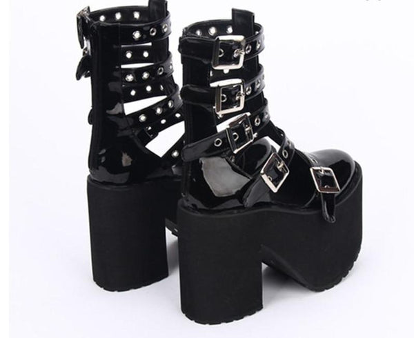 Terror Nights Chunky Platform Sandals