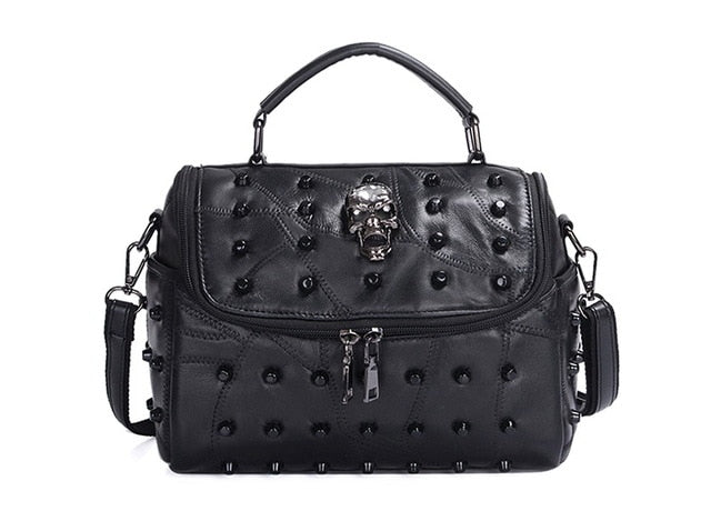 Stitch Me Up Skull Bag