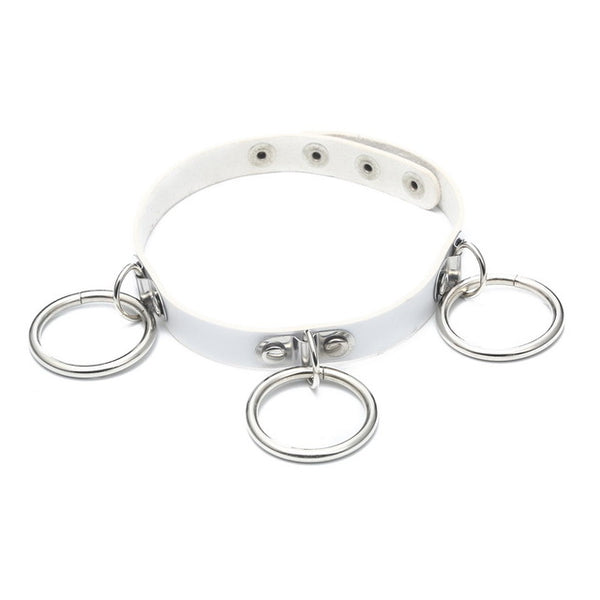 Ominous Triple O-Ring Choker