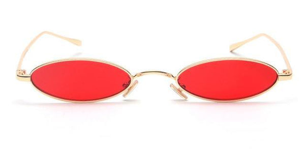 90s Ghoul Oval Sunglasses