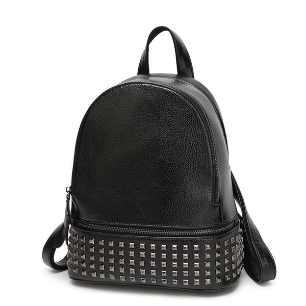 Disorderly Studded Backpack