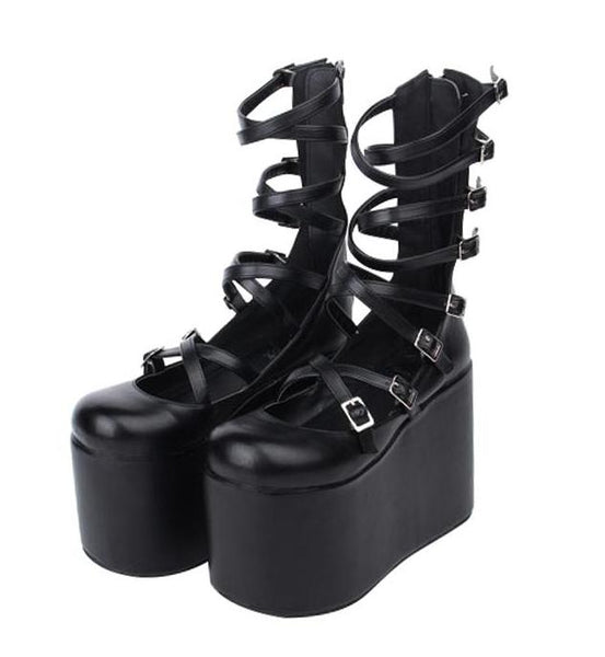 Creepy Ballet Platform Shoes
