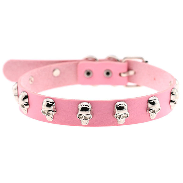 Attack of the Skulls Choker