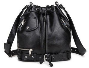 Punk Moto Jacket Bucket Bag