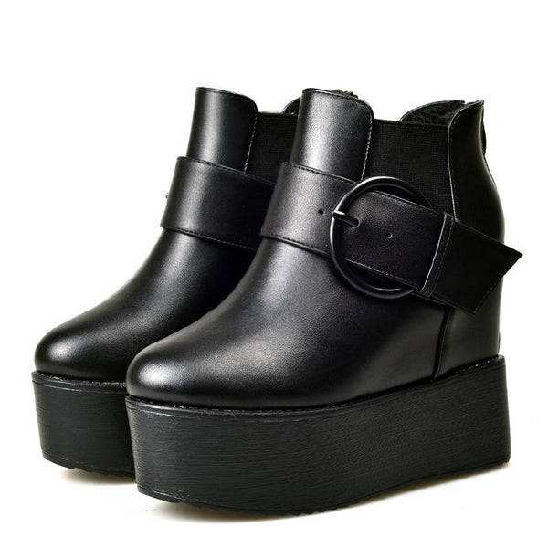 Wicked Wedge Boots