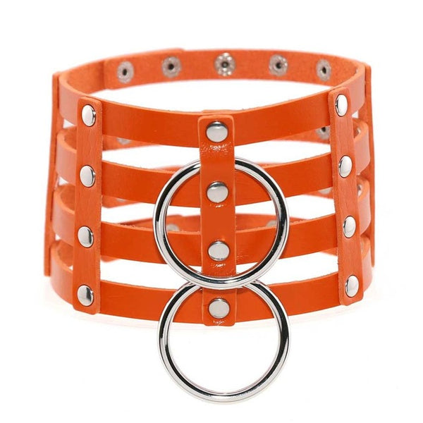 Double O-Ring Cage Choker