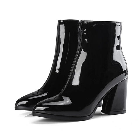 Moonlight Patent Leather Boots