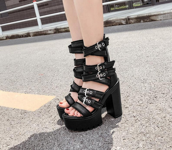 Disorderly Sandal Heels