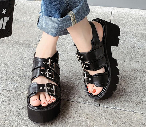 Sweet Dreams Chunky Sandals
