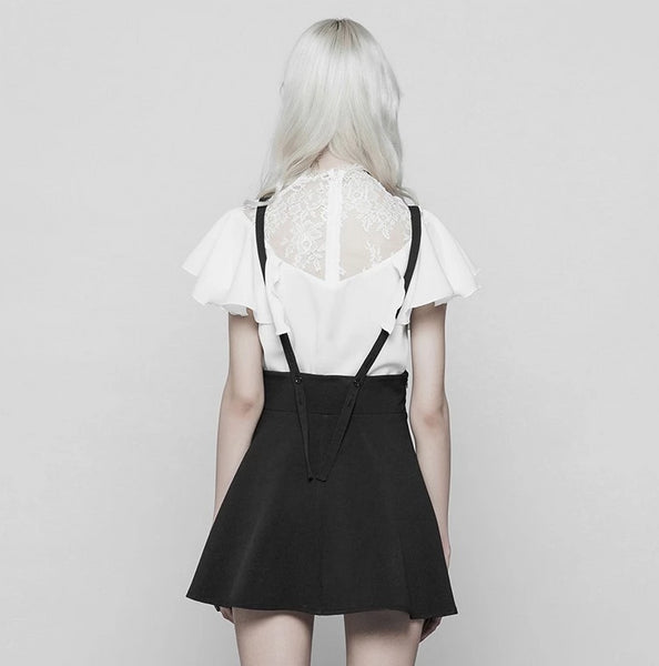Sinister Suspender Dress by Punk Rave