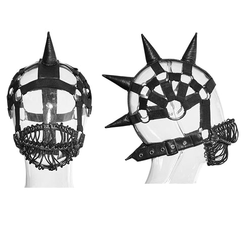 Mohawk Mask by Punk Rave