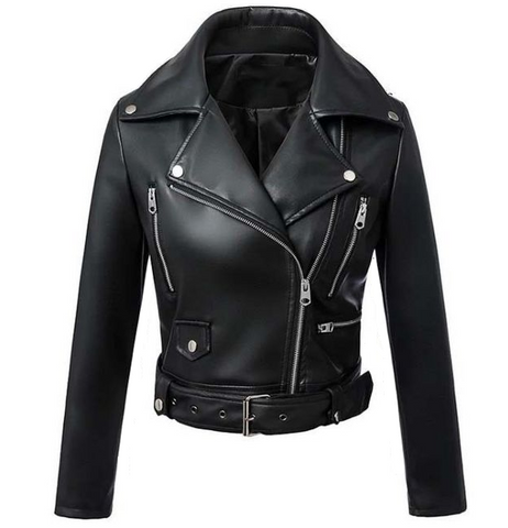 Misfits Faux Leather Jacket