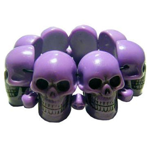 Purple Skull Collection Bracelet by Kreepsville 666