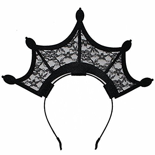 Queen Of The Underworld Lace Headband