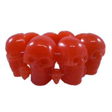 Red Skull Collection Bracelet by Kreepsville 666