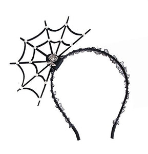 Rhinestone Spiderweb Headband