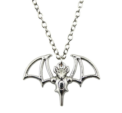 Ancient Vampire Bat Necklace