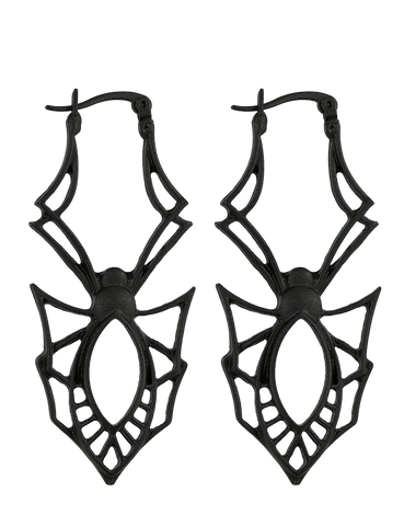 Gothic Spider Earrings by Restyle