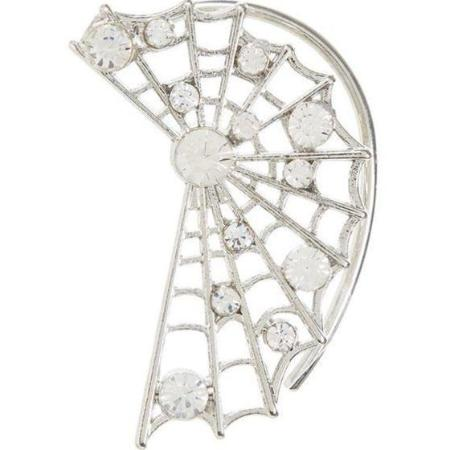 Spiderweb Ear Cuff