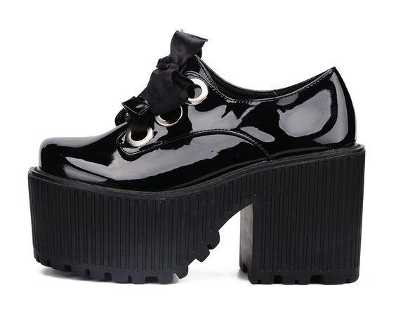 Spoiled Ghoul Platform Shoes