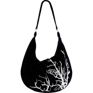 White Branches Hobo Bag by Restyle