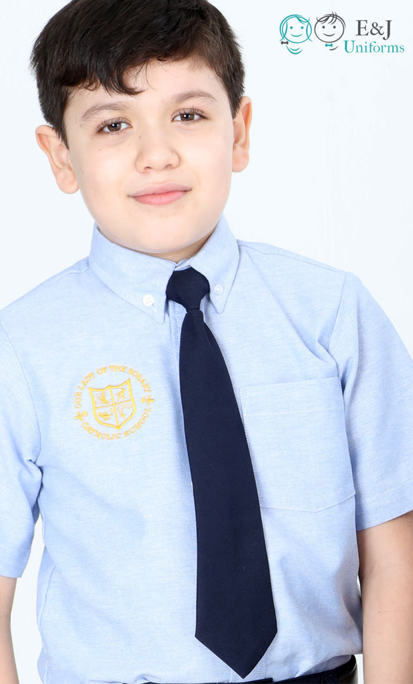 Boys Adjustable Solid Color Tie