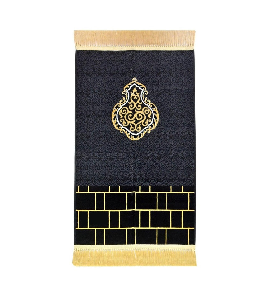 Kaaba Wall - Premium Prayer Mat - Made in Madina