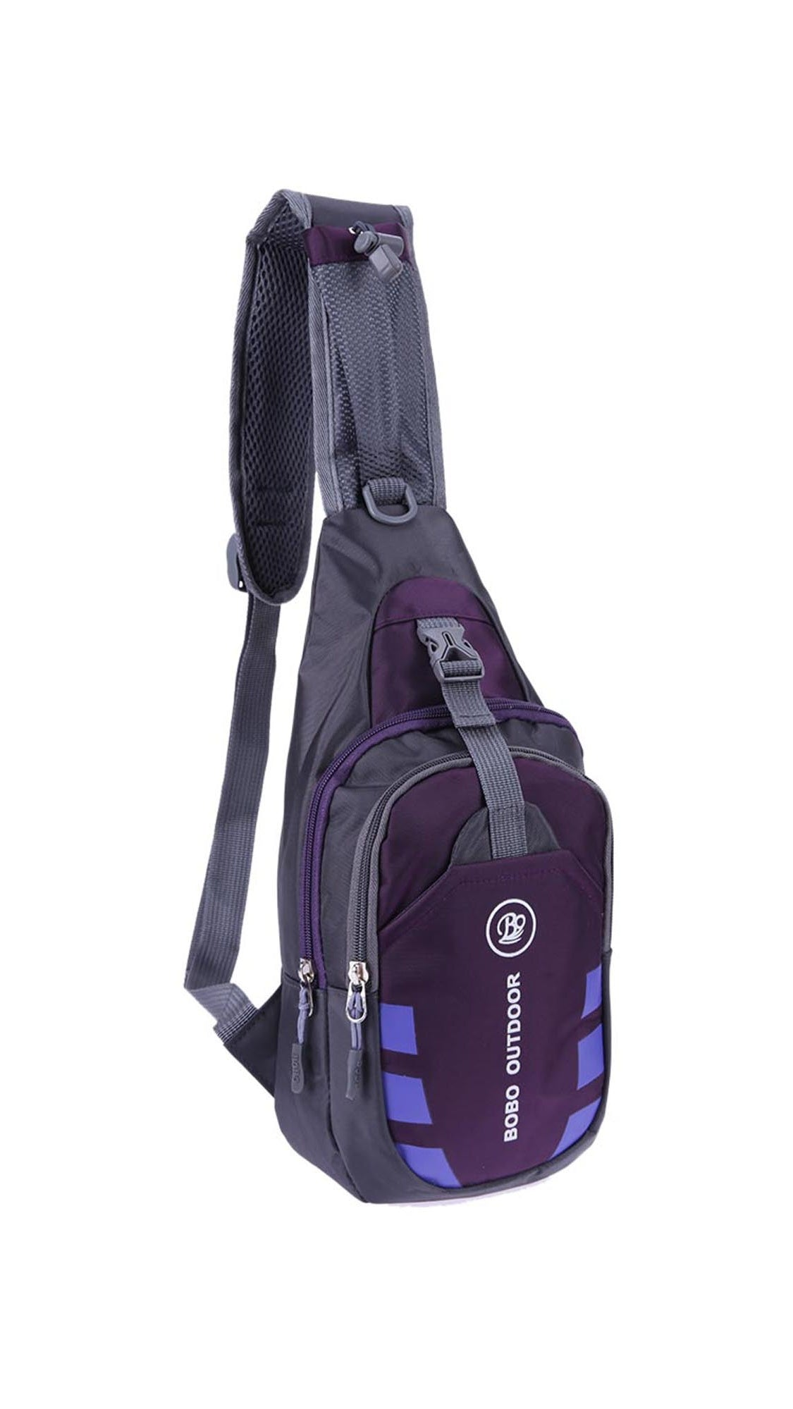 Women Chest Bag Outdoor Sport Travel Shoulder Sling Backpack Pouch  Waterproof PurpleWomen Chest Bag Outdoor Sport 670845c23aa85