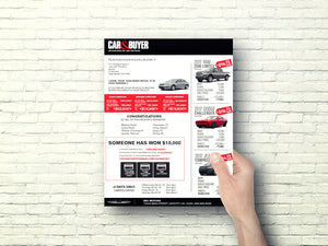 Automotive Direct Mail Marketing Buy Back Letter