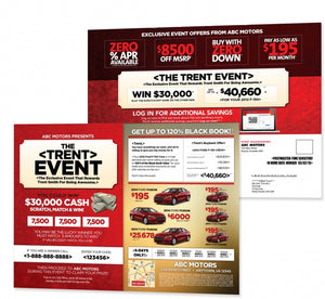 The <FIRST NAME> Event Campaign | Automotive Direct Mail Marketing
