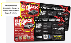 The Original Black Friday Buyback | Automotive Direct Mail Marketing