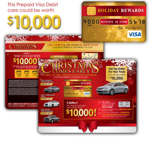 Christmas Comes Early Buyback | Automotive Direct Mail Marketing